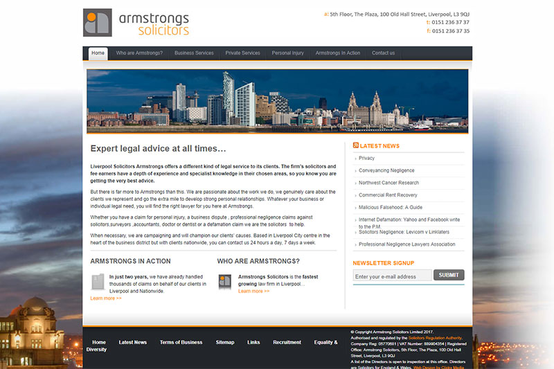 Armstrong Solicitors Liverpool