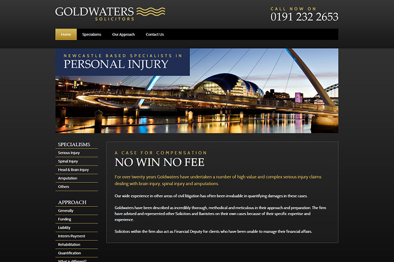 Goldwaters Solicitors New Castle