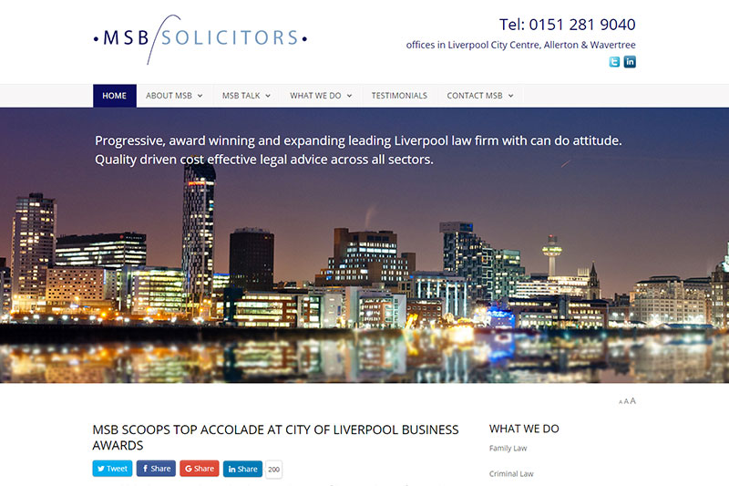 MSB Solicitors Liverpool