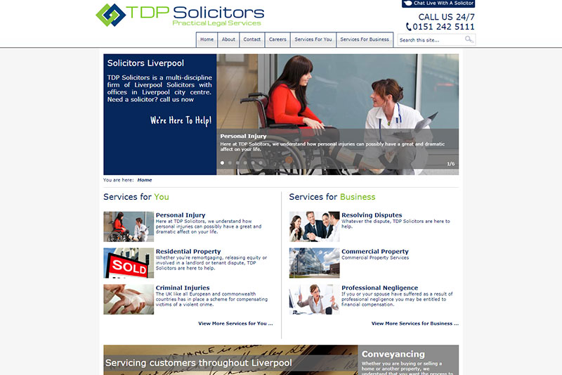 TDP Solicitors Liverpool
