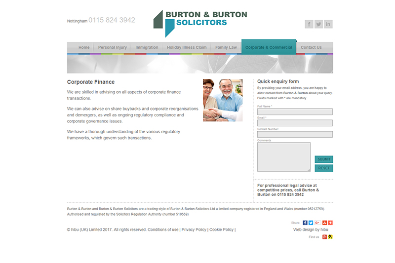 Burton & Burton Solicitors Nottingham