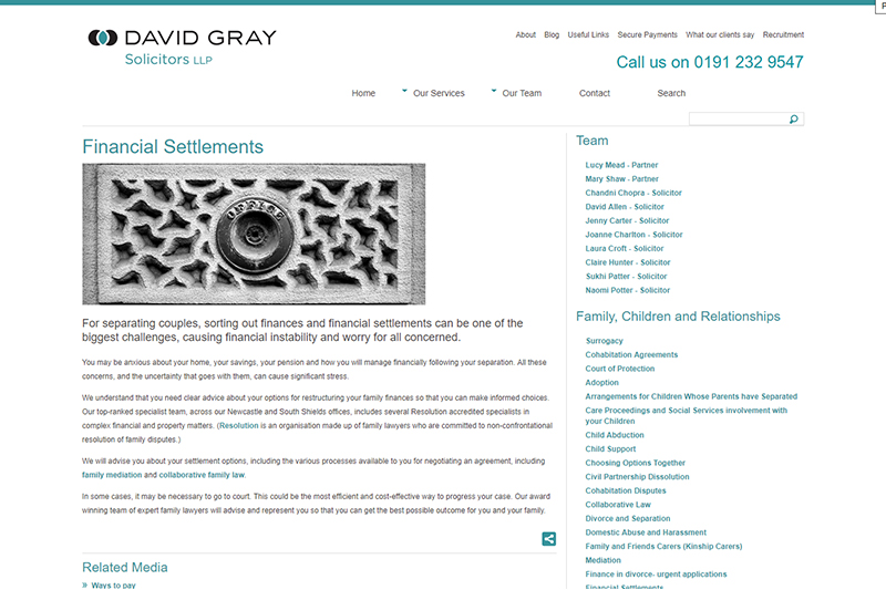 David Gray Solicitors Newcastle