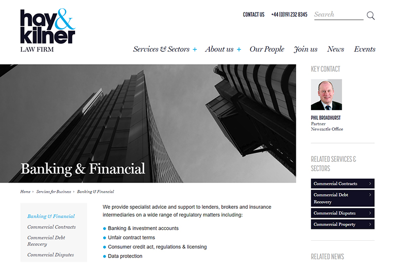 Finance & Banking Solicitors Newcastle