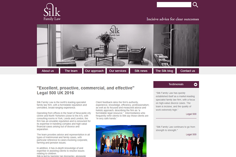 Silk Family Law Solicitors Newcastle