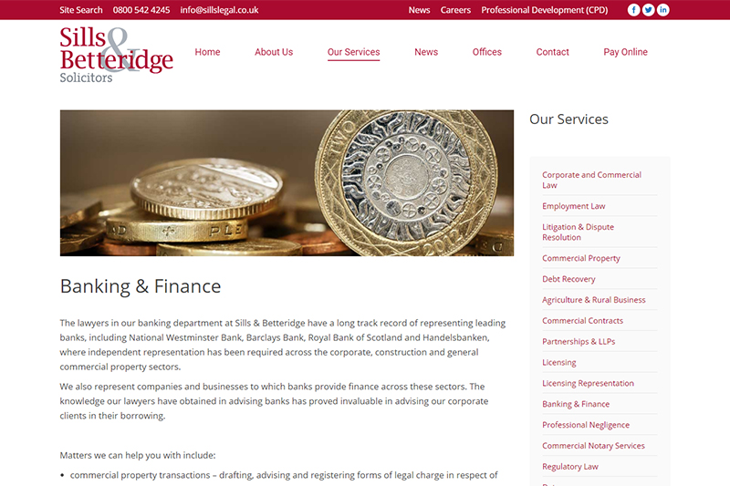 Sills & Betteridge Solicitors Nottingham